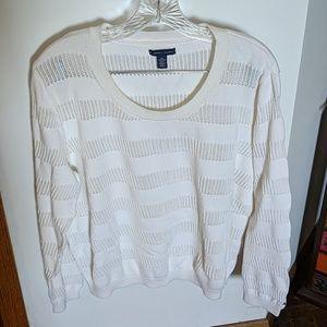 Tommy Hilfiger Ivory Sweater (XXL)